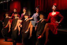 Cabaret Faena or Rojo Tango, Buenos Aires, Argentina.