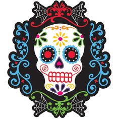 """Décoration murale Calavera - Collection """"Day of the dead"""" !"""