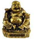 Gold Happy Buddha Statue
