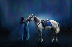 Twilight Blue by AusWolf666