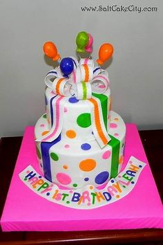 Image result for happy birthday cakes and balloons images