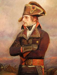 Fierce. General Bonaparte in Italy, by Edouard Detaille.