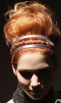 Greek hairstyle with ribbons in the hair · HAIR TIPS BLOG