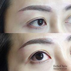 Eyeliner Embroidery, Semi Permanent Eyeliner, Eyebrows, Eye Brows, Brows, Brow, Eyebrow, Arched Eyebrows