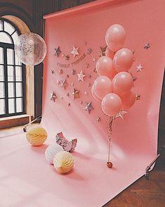 25 Trendy Ideas For Baby Photoshoot Backdrop Birthday Parties Balloon Decorations, Birthday Party Decorations, Baby Shower Decorations, Birthday Backdrop, Birthday Balloons, Flower Decorations, Birthday Centerpieces, Baby Birthday, 1st Birthday Parties