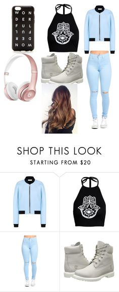 """""""Dez's outfit"""" by maydoll on Polyvore featuring Balenciaga, Timberland and J.Crew"""