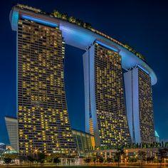 Marina Bay Sands Hotel by Edward Tian on 500px
