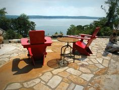 A South Bay Quartzite blend makes this beautiful patio