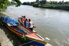Sengkang, Bootsanleger beim BBC Hotel fuer einen schnellen Start zum Tempe See