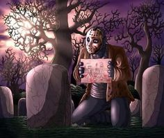 Jason Voorhees by on DeviantArt Jason Voorhees, Slasher Movies, Horror Movie Characters, Horror Monsters, Horror Icons, Classic Horror Movies, Arte Horror, Halloween Horror, Kawaii