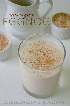 Raw Vegan Eggnog