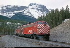 RailPictures.Net Photo: CP 1416 Canadian Pacific Railway EMD FP7 at Lake Louise, Alberta, Canada by Bill Edgar