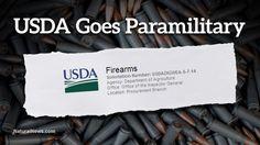 USDA goes paramilitary: Organic certifier buying submachine guns with night sites, 30-round magazines