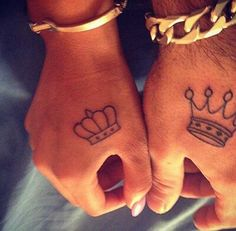 King & Queen Tattoos