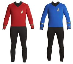Star Trek wetsuit. I could see my dad getting this. lol.