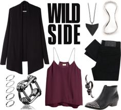 """Wild Side"" by jess ❤ liked on Polyvore"