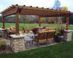 Stand Alone Traditional Patio Pergola Design, Pictures, Remodel, Decor And  Ideas   Page