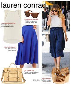 how to dress like Lauren Conrad...
