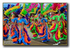 Tacloban Fiesta '08 - Colorful dancers