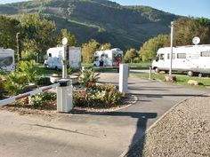 RV park entrance Wintrich Mosel Source by Motorhome Conversions, Motorhome Interior, Rv Parks, Entrance, Germany, Campers, Vacations, Rhineland Palatinate, Garten