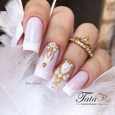 Hottest Trends for Acrylic Nail Shapes Wow Nails, Cute Toe Nails, Acrylic Nail Shapes, Best Acrylic Nails, Glitter Gel Nails, Pink Nails, Garra, Nail Shapes Square, Flare Nails
