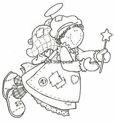 digi6203 Angel with Star Wand
