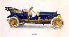 1909 Palmer-Singer Model LXII; Toy Tonneau, 6 cylinder, 60 h.p.