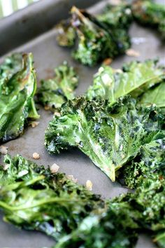 Cajun Kale Chips » The Curvy Carrot