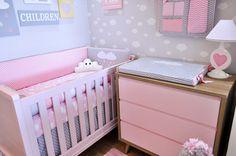 Tudo para a decoração do quarto do seu bebê.