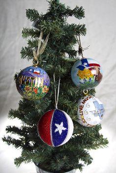REAL: Texas ornaments, December 2012