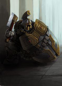 Shield Guard by Omuk.deviantart.com on @deviantART