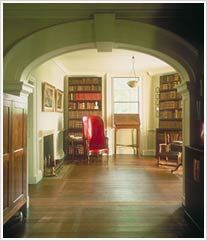 The collection Jefferson assembled over 50 years in his Book Room became the nucleus of the Library of Congress. Thomas Jefferson's Monticello