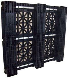 32 x 37 Rackable Plastic Pallet (Item # PP-O-3237-R)  http://oneway-solutions.com/fire-retardant-pallets/pp-o-3237-r