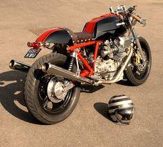 Moto Guzzi Le Mans Cafe Racer. @Anna Totten Johnson, I think Anthony should get something like this.