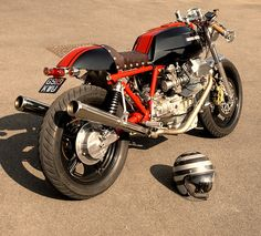 Moto Guzzi Le Mans Cafe Racer. @Anna Totten Johnson, I think Anthony should get something like this.