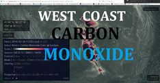 3/01/2016 -- West Coast massive Carbon Monoxide Gas Detection -- Seismic...