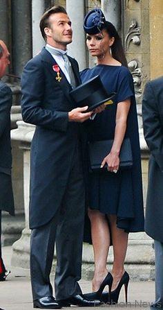 David-Beckham in Ralph Lauren Purple label morning suit at royal wedding