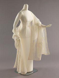 Metropolitan Museum: estola india de algodón de 1800-1810 (Inventario: 2009.300.2894)