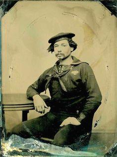 African American Civil War era sailor.