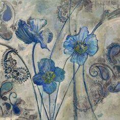 Flora on Gray