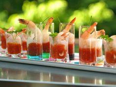 My Grandmother's Ravioli - Ilene & Freddie - Apps & Cocktail: Shrimp Cocktail Shooters