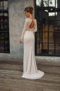 Wedding dress 'LEONI' // Sexy wedding dress luxury