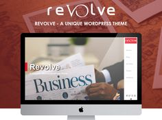 Revolve – free WordPress vertical scrolling theme is released for the creative WordPress lovers. A good news for you if you are looking for some creativity and unique design on your new WP website.