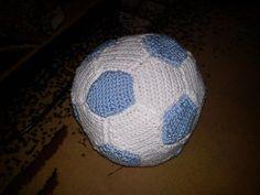 crochet football ball