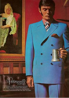 louxosenjoyables:  An oldie but goodie. (That suit is…YES.)
