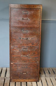 1930u0027s wooden filing cabinet