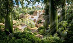 Cucumber-Bridge-carl-warner Landscapes made from food