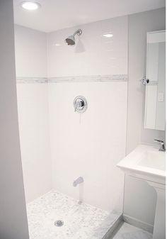Aubrey & Lindsays Little House Blog: Before + After: Basement Bathroom