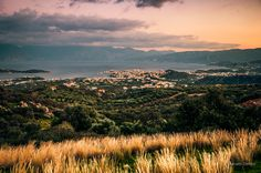 Agios Nikolaos - Crete - Greece  Landscape panorama