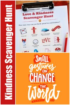Fun Kindness Week challenge or Valentines Day activity -- find & complete random acts of kindness with this fun & free printable scavenger hunt!! Kindness Activities, Fun Activities To Do, Valentines Day Activities, Literacy Activities, Family Activities, Learning Games For Kids, Play Based Learning, Compliment Someone, Fun Worksheets
